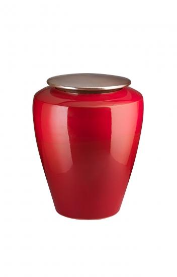 Amalfi rosso top oro