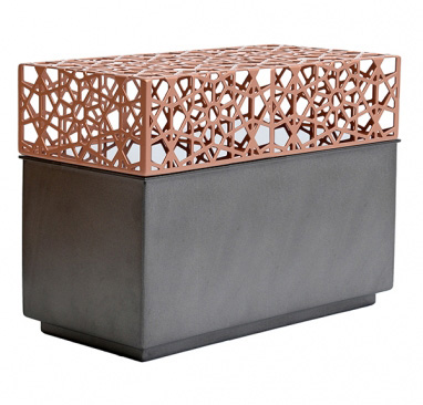 Cinerary urn Copper Diamante Insieme