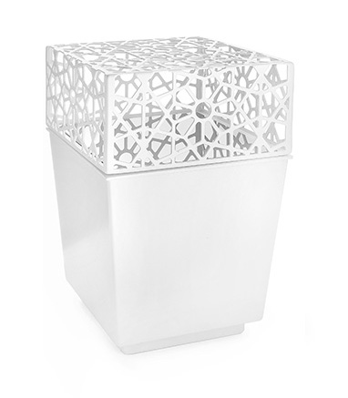Cinerary urn White Stella di Diamante