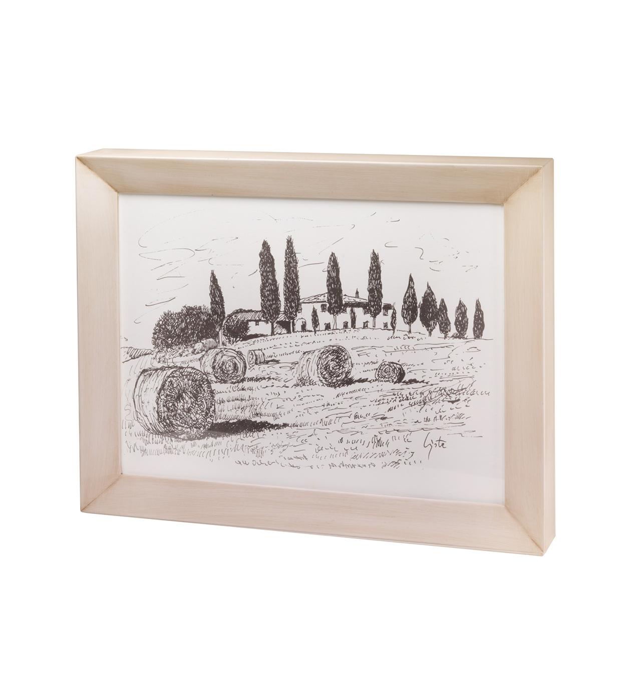 Urna cineraria Strazzullo Paesaggio Toscana 01
