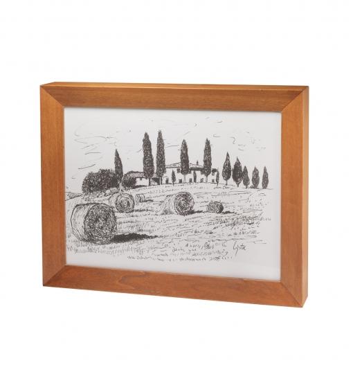 Urna cineraria Strazzullo Paesaggio Toscana 02